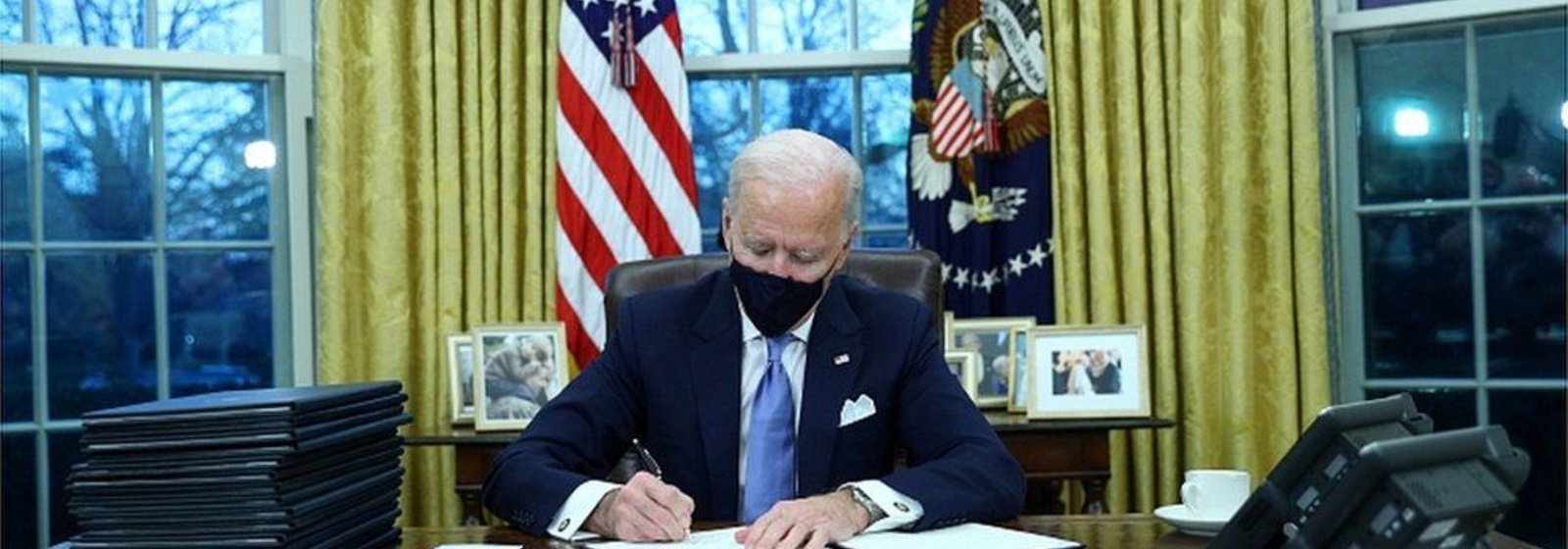 Wasting No Time: Biden Signs 17 Executive Orders on First Day