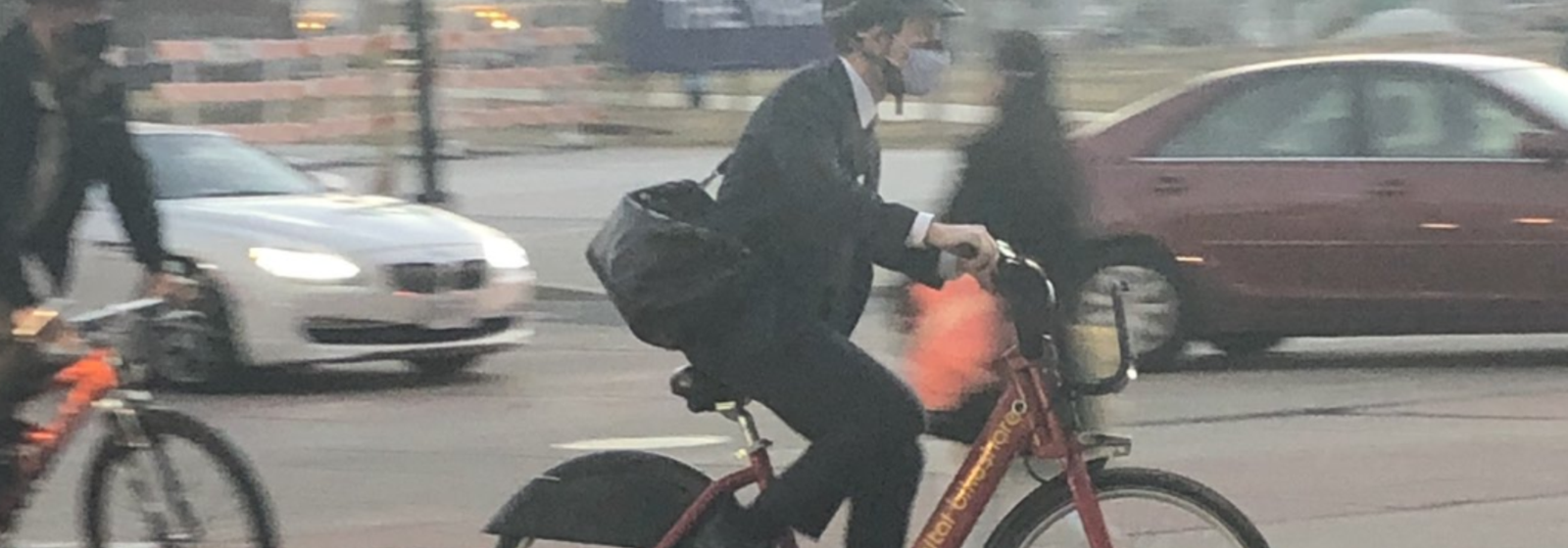 "Here's How Pete Buttigieg ""Bikes"" to Work"