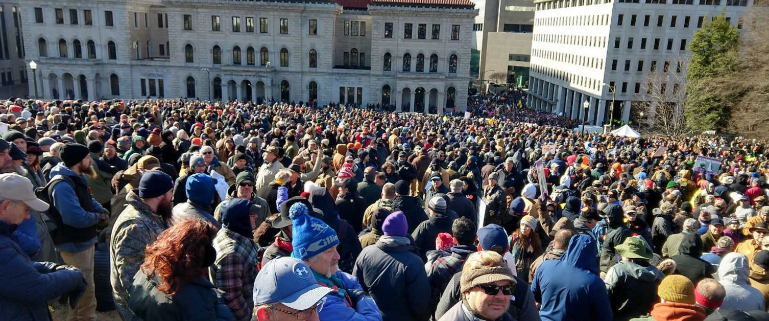 Thousands of Gun Owners Rally in Virginia, Nothing Bad Happens
