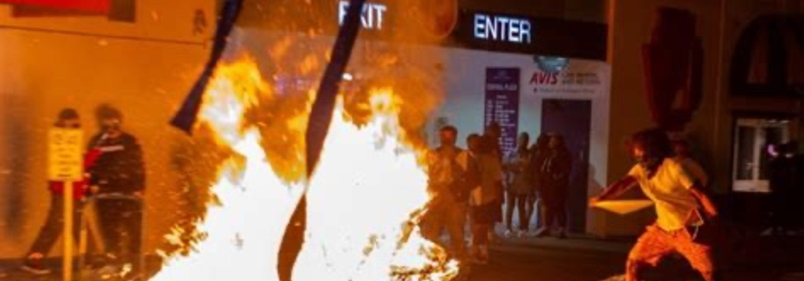 Portland: Protests, Violence and Fires, No Media Coverage